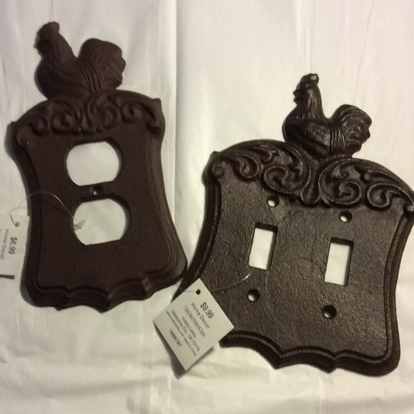 Hobby Lobby Other Decorative Iron Outlet Cover Chicken Aged Bronze Poshmark